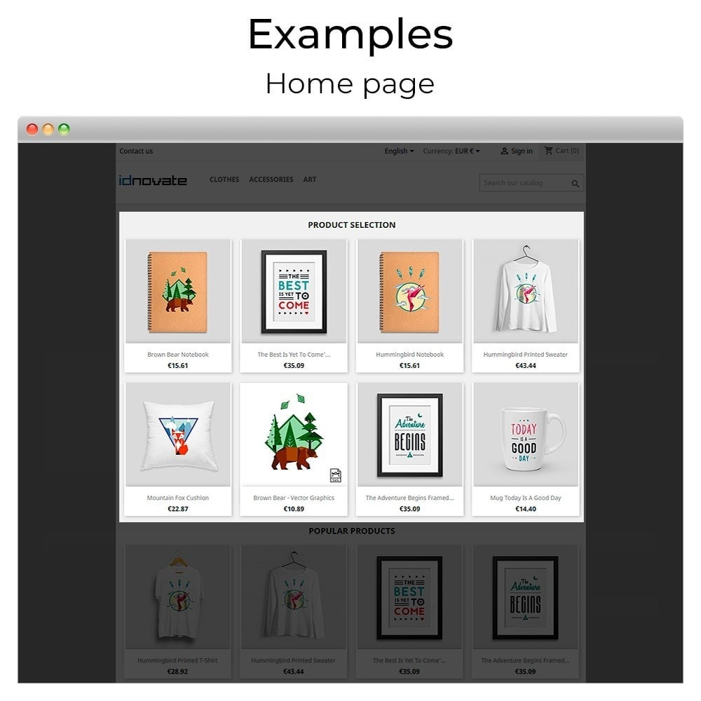 module - Sliders & Galleries - Products carousel and slider - 9