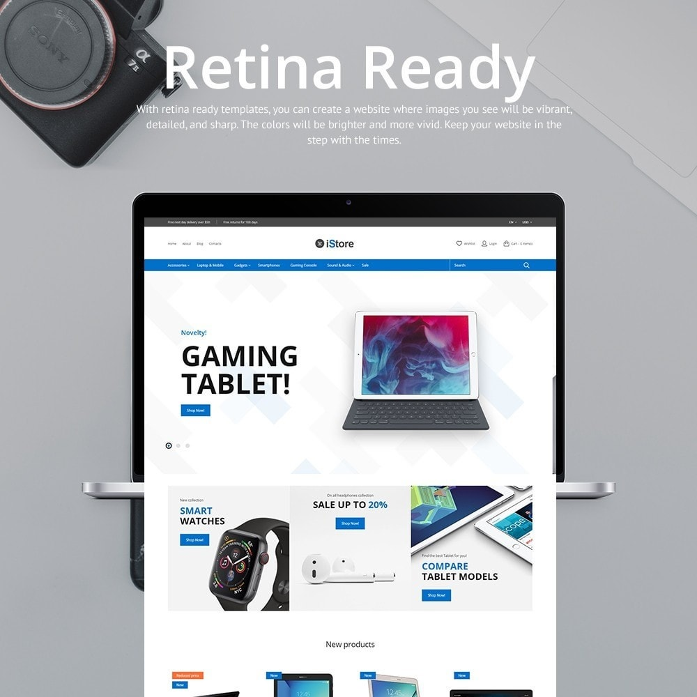 theme - Elektronika & High Tech - iStore - Electronics Shop - 3