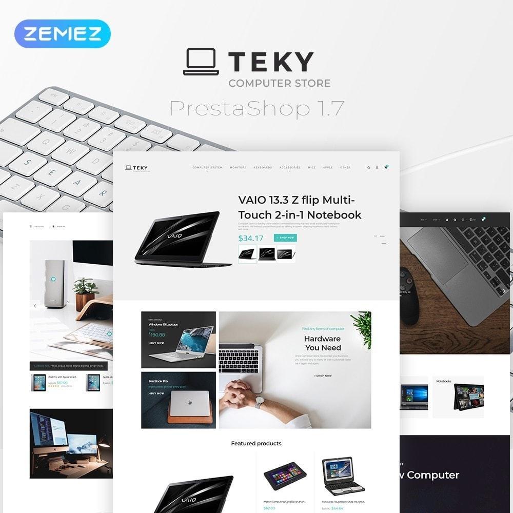 theme - Electronics & Computers - Teky - Computer Store - 1