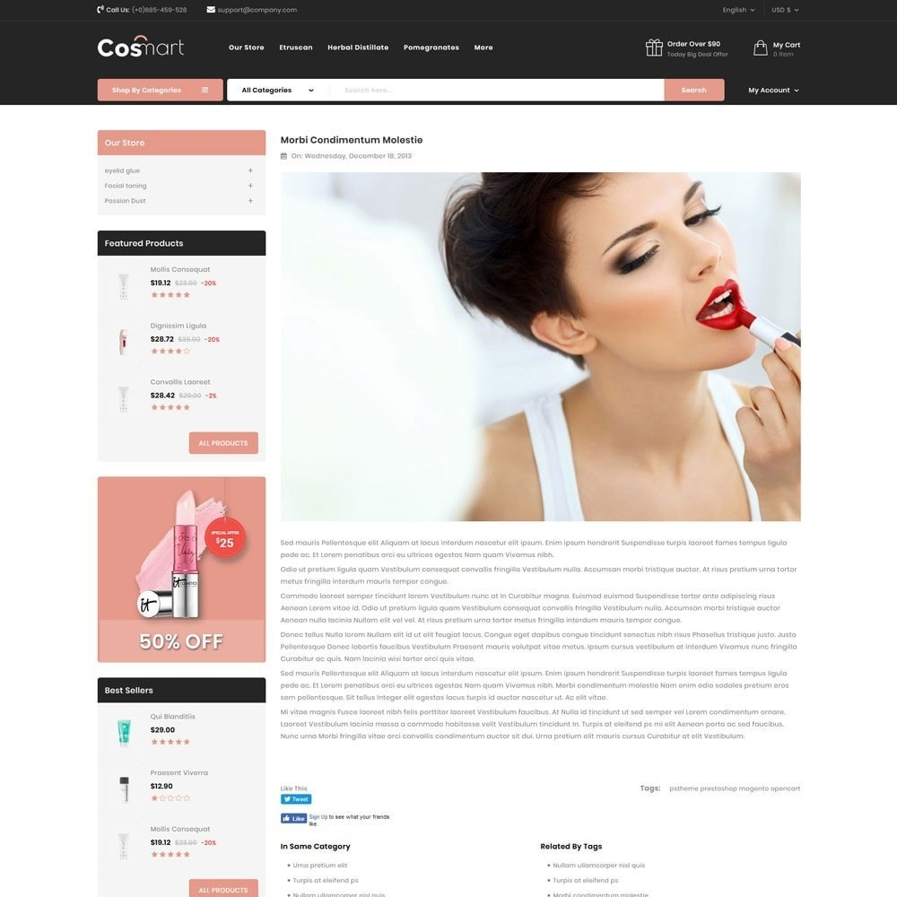 theme - Jewelry & Accessories - Cosmart - The Cosmetic Mega Store - 9