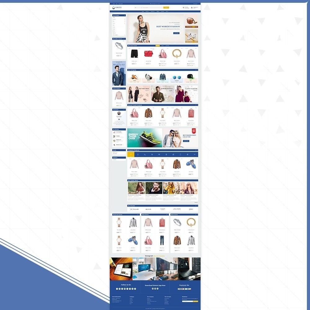 theme - Fashion & Shoes - Moda Simons - Fashion Store - 2