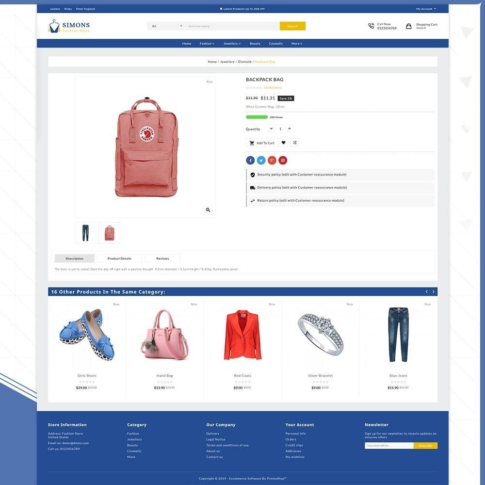 theme - Fashion & Shoes - Moda Simons - Fashion Store - 4
