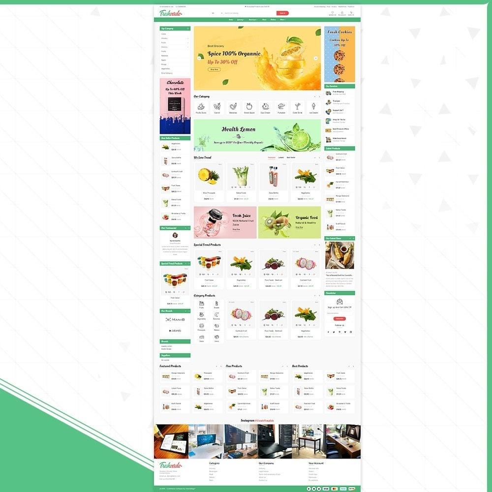 theme - Home & Garden - Épicerie Hverde - Fresh Grocery Shop - 2