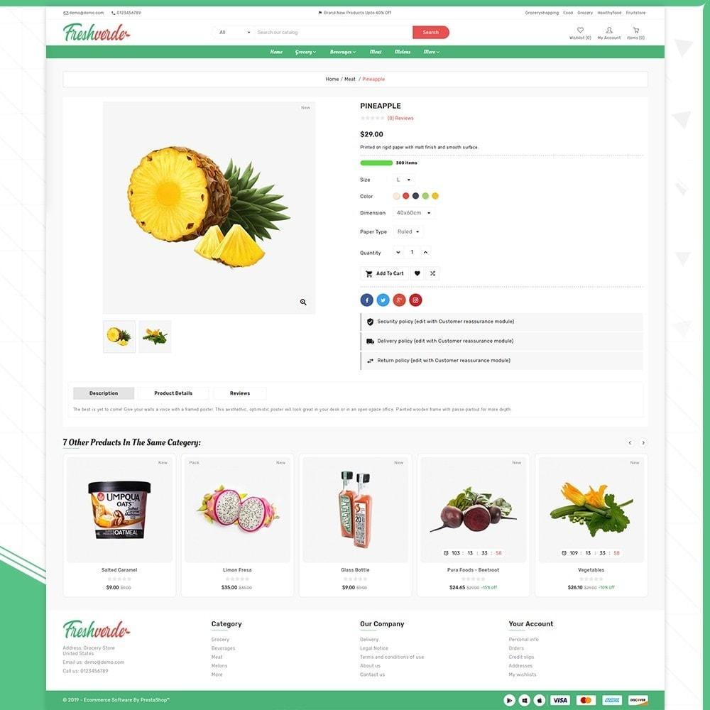 theme - Home & Garden - Épicerie Hverde - Fresh Grocery Shop - 4