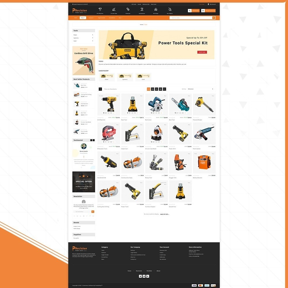 theme - Automotive & Cars - Outils Presicion - Tools & Machine Shop - 3