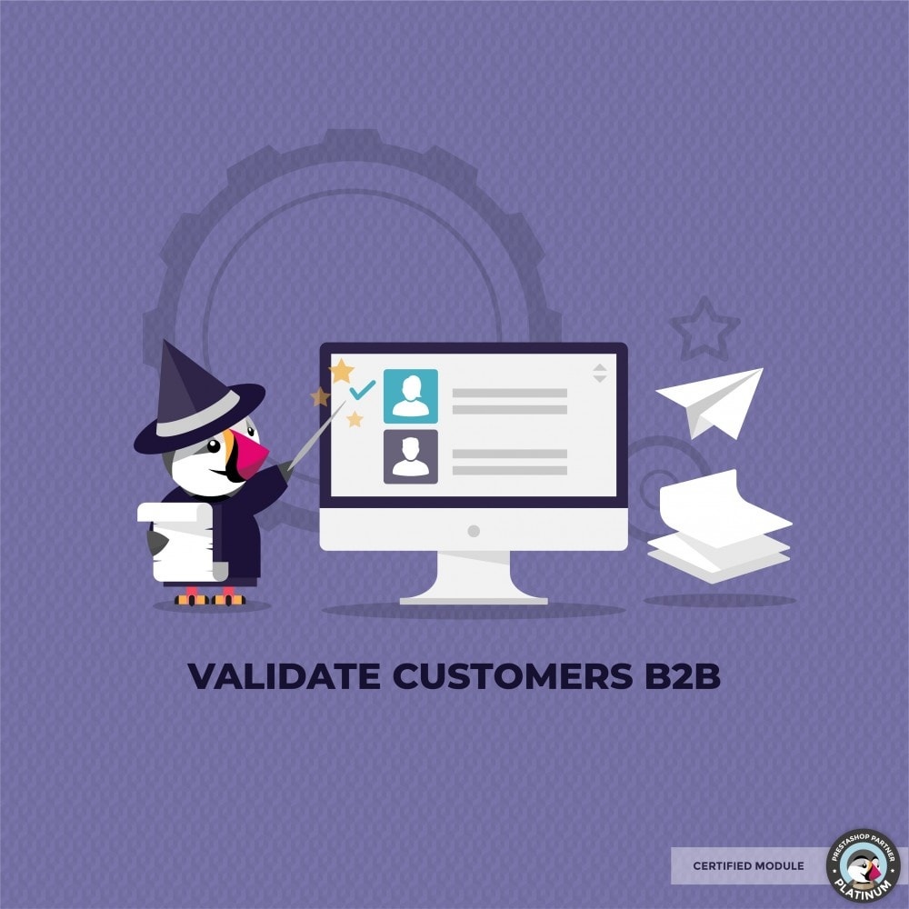 module - Kundenservice - Validate Customers shop B2B - 1