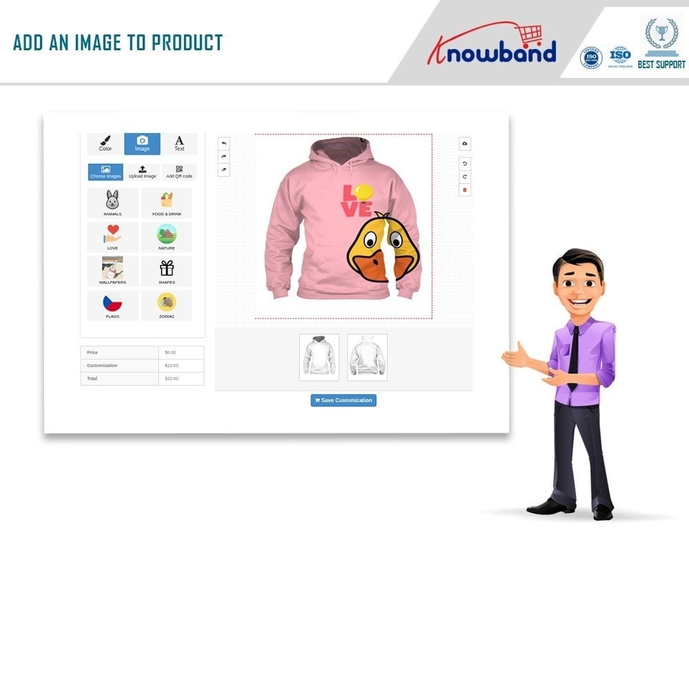 module - Combinations & Product Customization - Product Customizer/Designer - 5