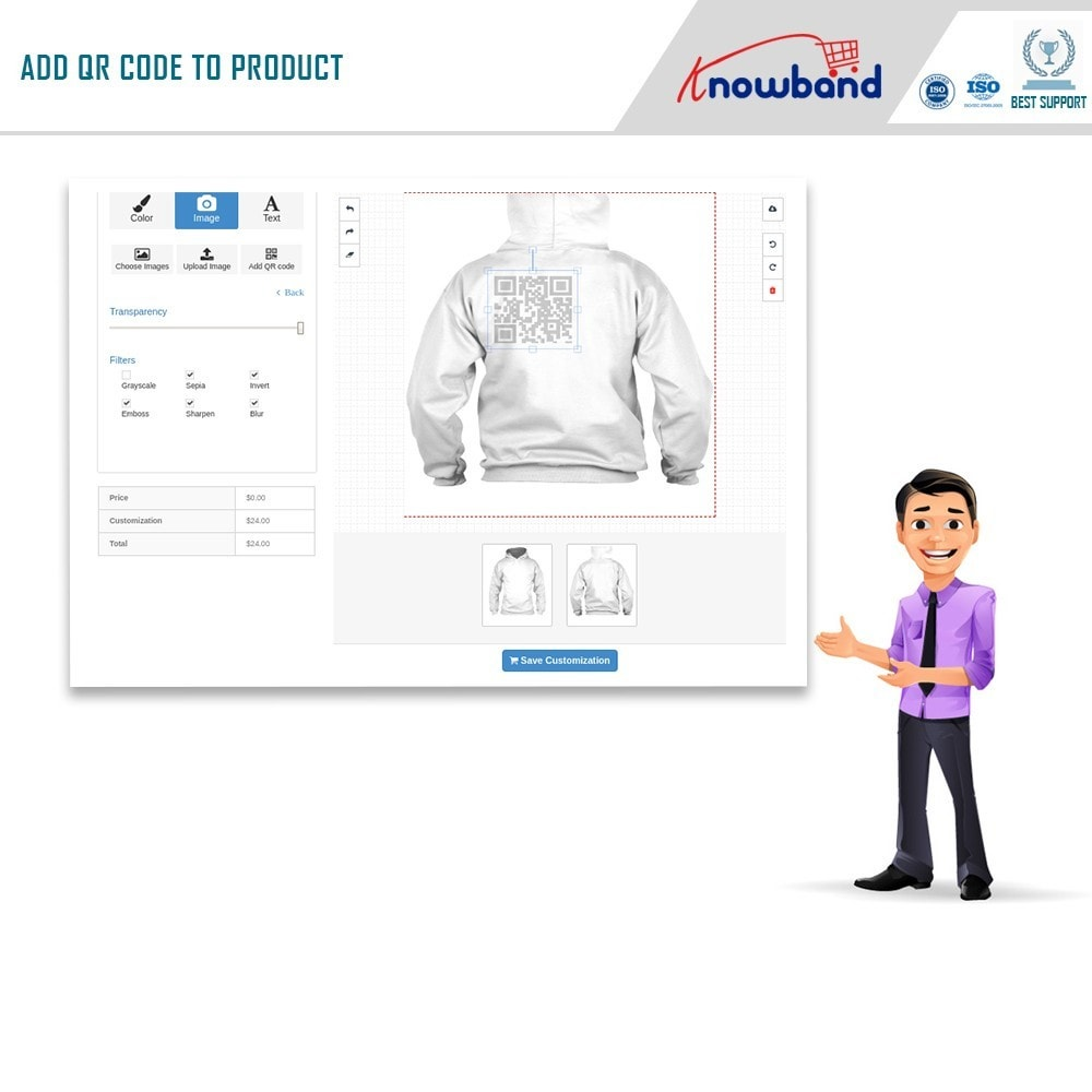 module - Combinations & Product Customization - Product Customizer/Designer - 6