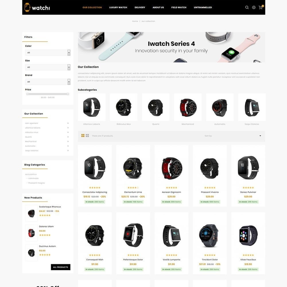 theme - Eletrônicos & High Tech - Watchi - The Watch Store - 4