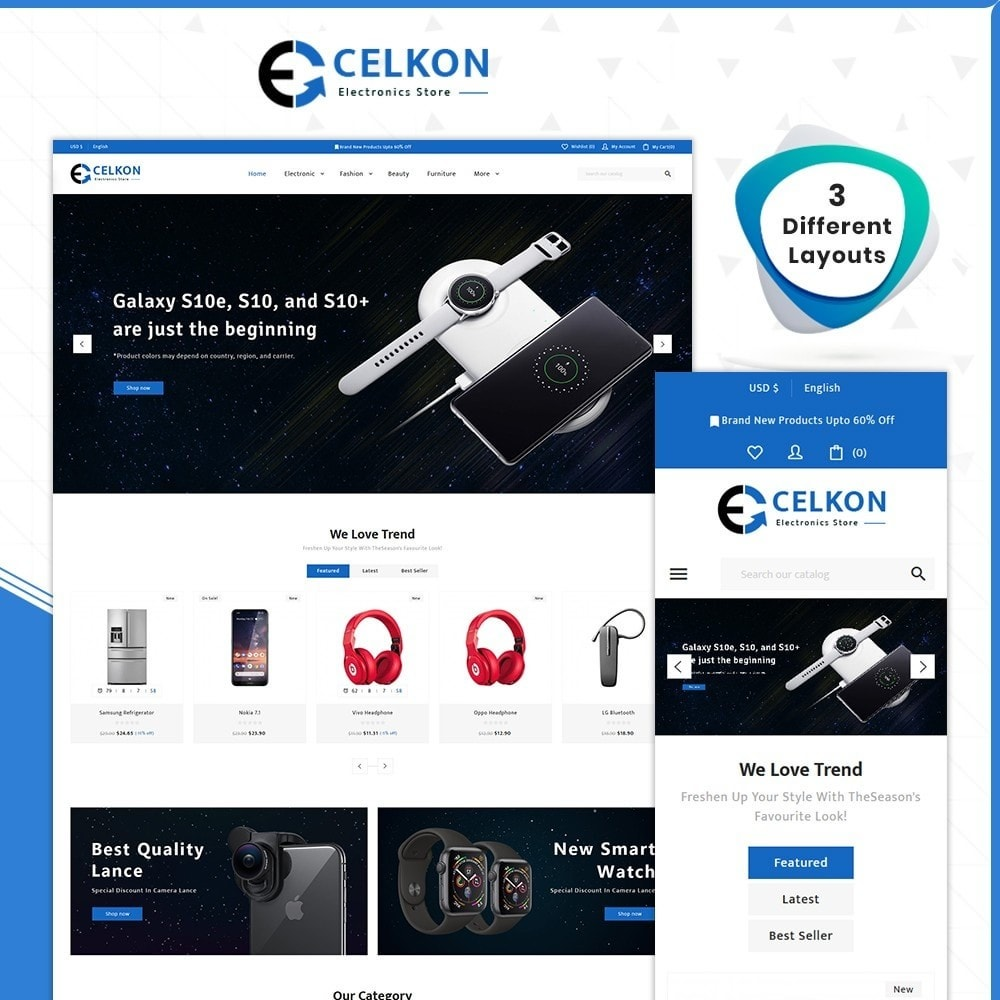 theme - Electronics & Computers - Celkon - Electronic Store - 1