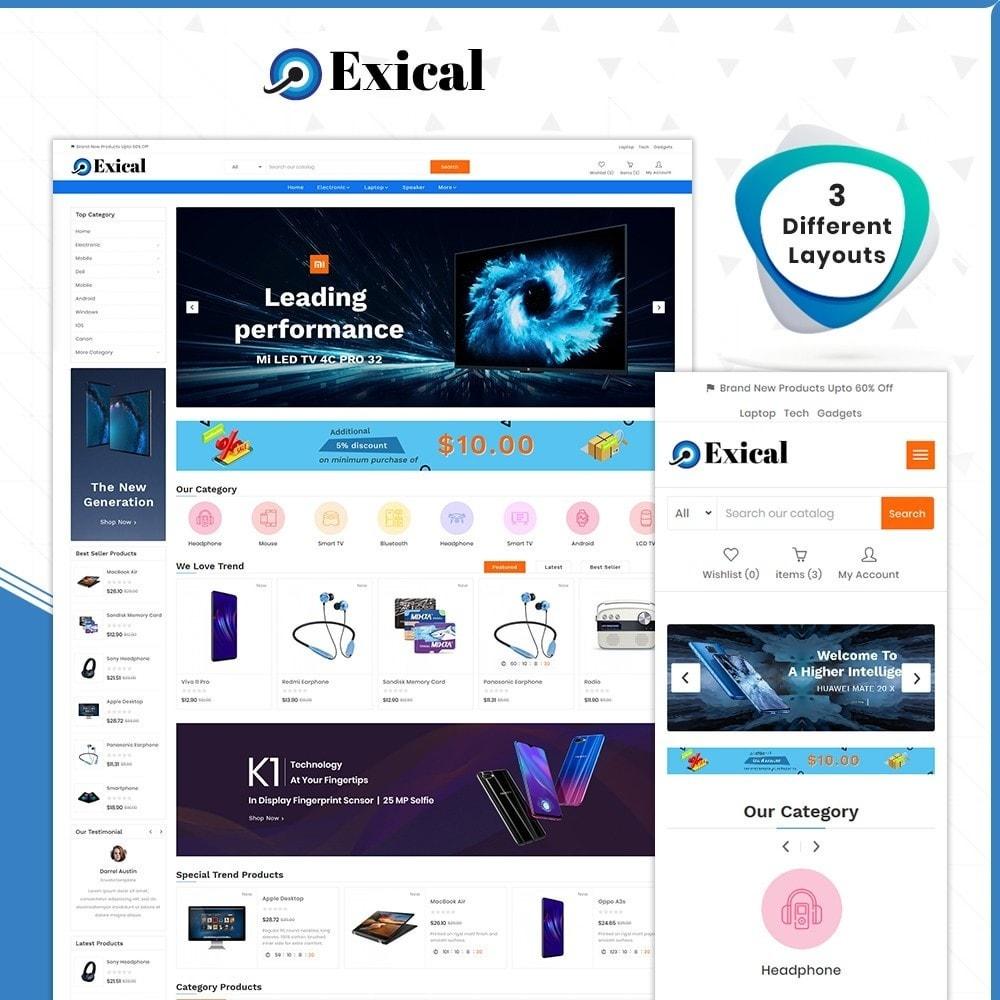 theme - Electronics & Computers - Électronique Exical Shop - 1