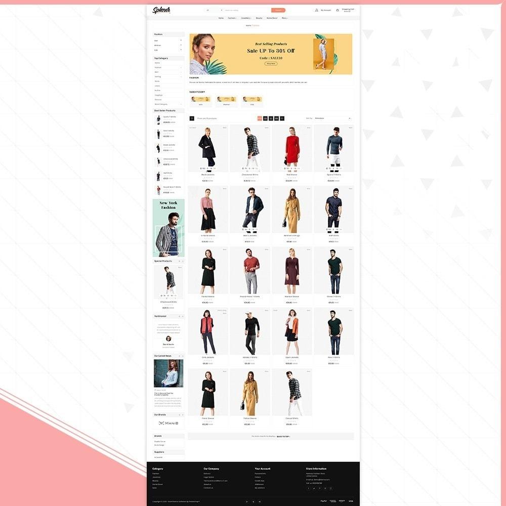 theme - Fashion & Shoes - Splenor - Fashion Style Shop - 3