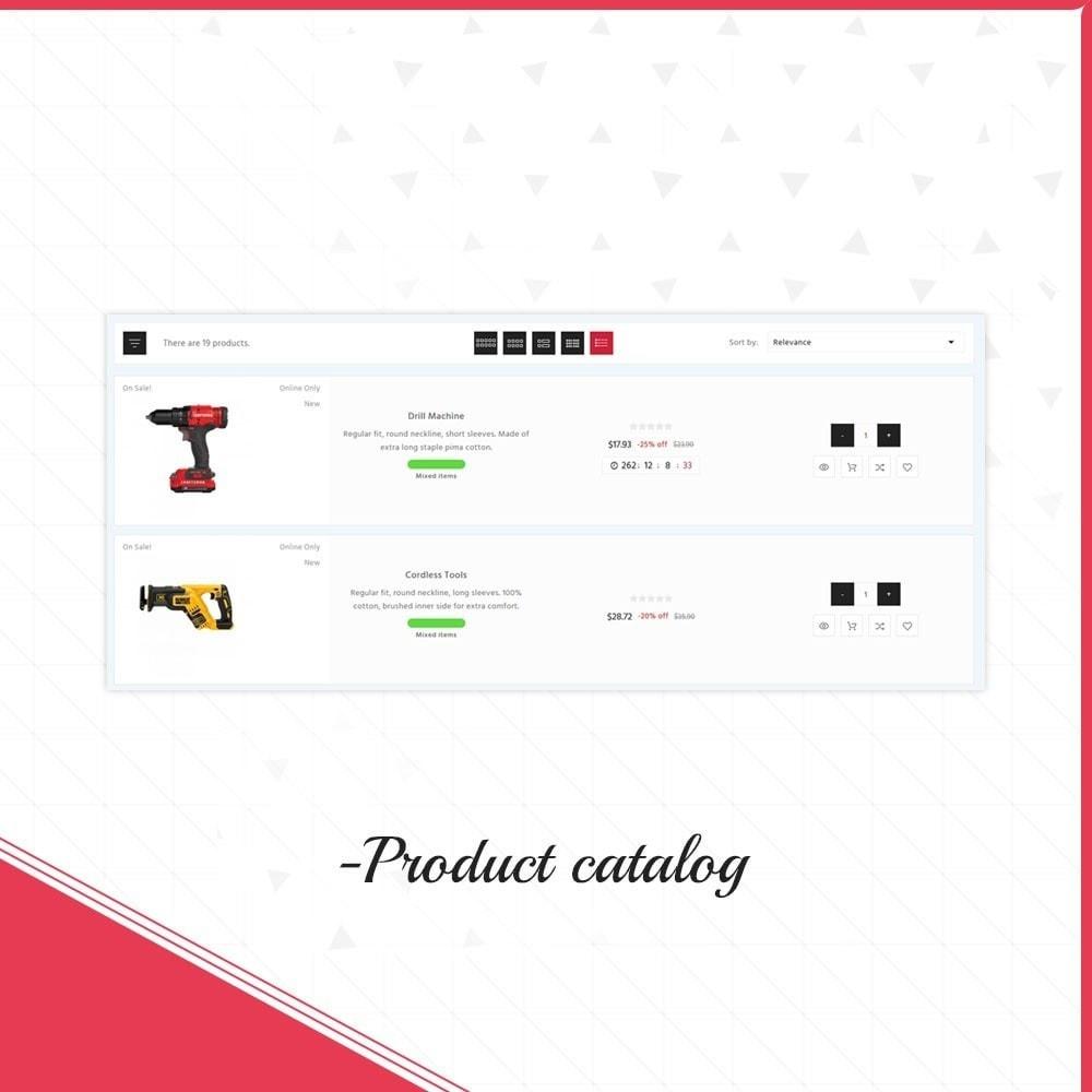 theme - Samochody - Master tools - Equipment Store - 11
