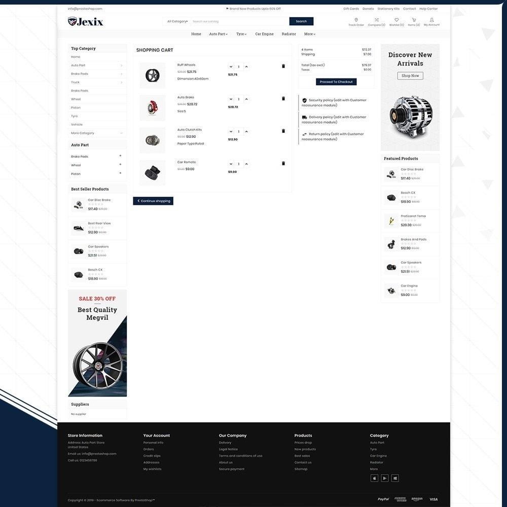 theme - Autos & Motorräder - Jexix  AutoPart - Auto Part Shop - 5