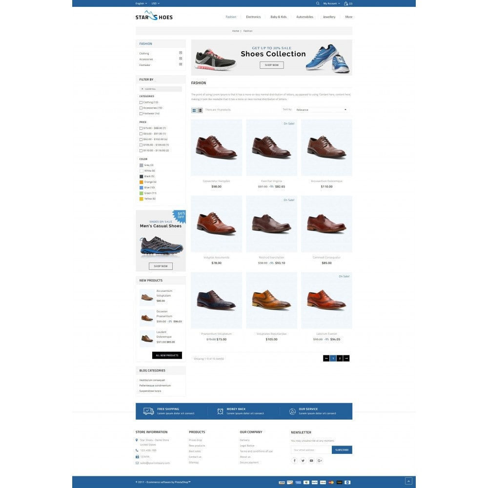 theme - Moda & Obuwie - Star Shoes Store - 3