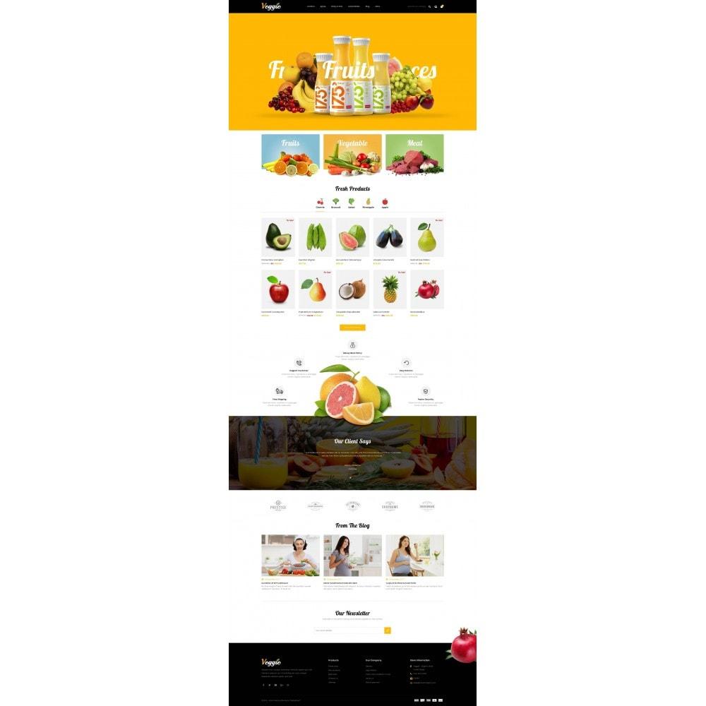 theme - Alimentation & Restauration - Veggie - Organic Store - 2