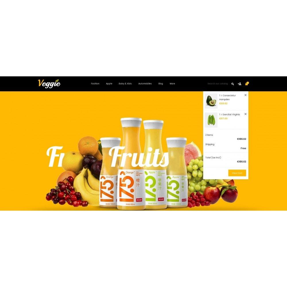 theme - Alimentation & Restauration - Veggie - Organic Store - 8