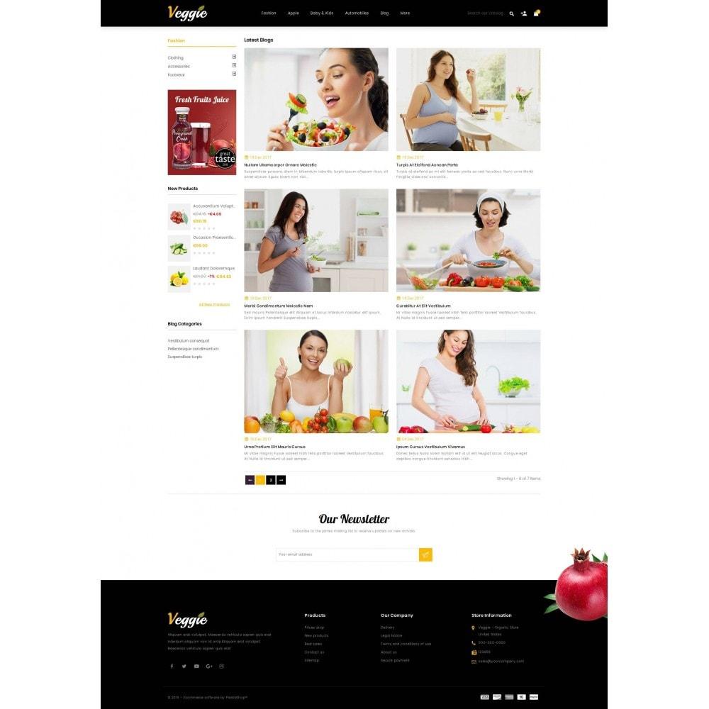 theme - Alimentation & Restauration - Veggie - Organic Store - 9