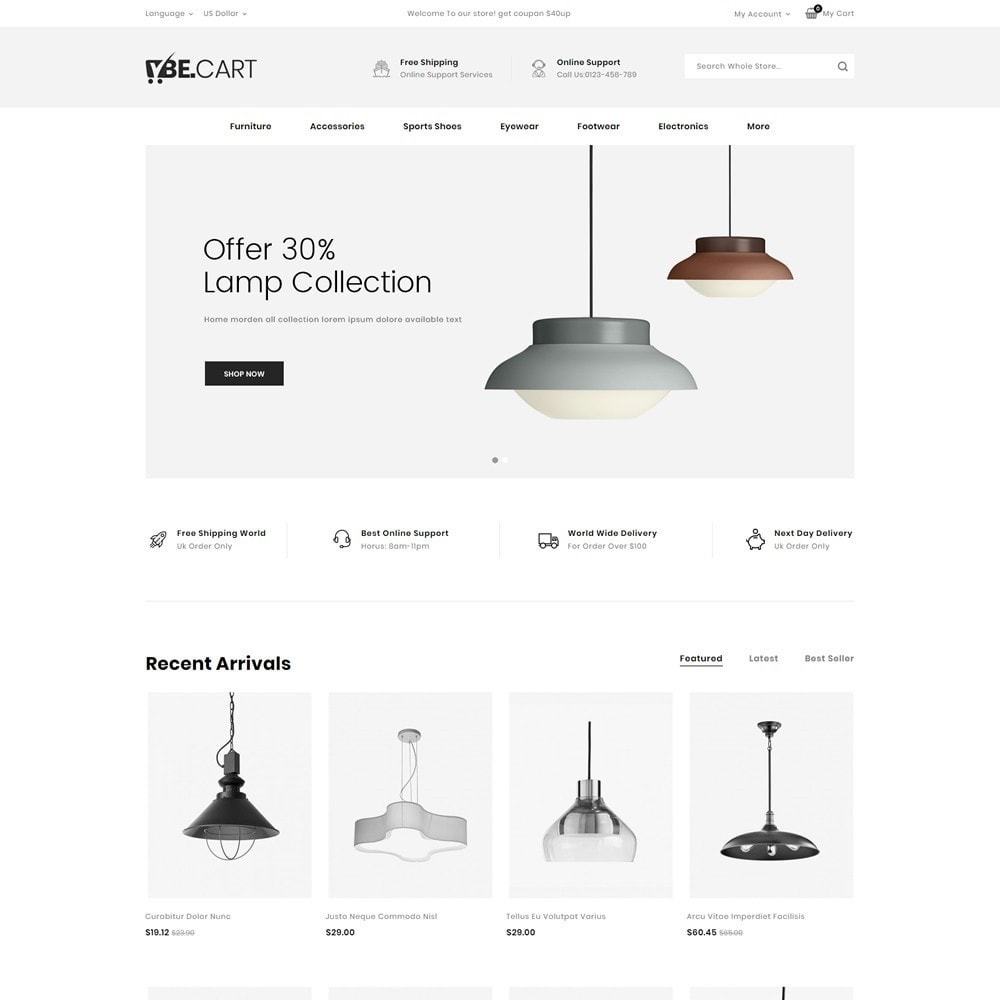 theme - Moda y Calzado - BeCart - Multipurpose Store - 4