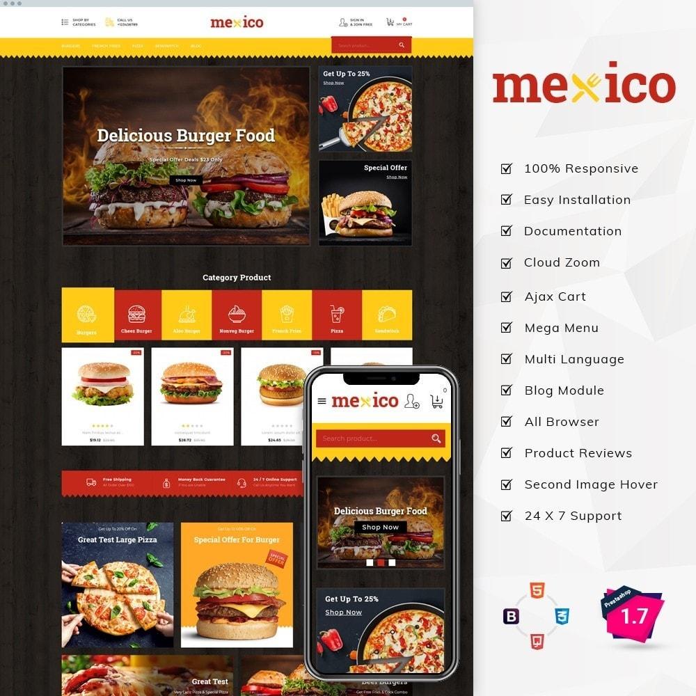 theme - Cibo & Ristorazione - Mexico Food Store - 2