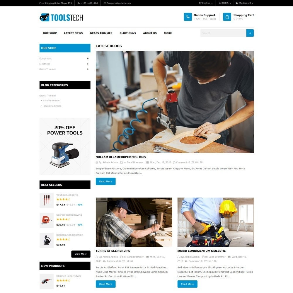 theme - Elettronica & High Tech - ToolTech - The Tool Store - 11