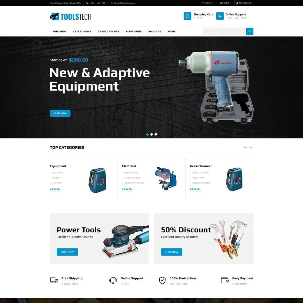 theme - Electronique & High Tech - ToolTech - Le magasin d'outils - 4