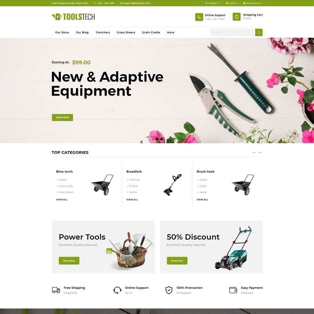 theme - Electronique & High Tech - ToolTech - Le magasin d'outils - 5