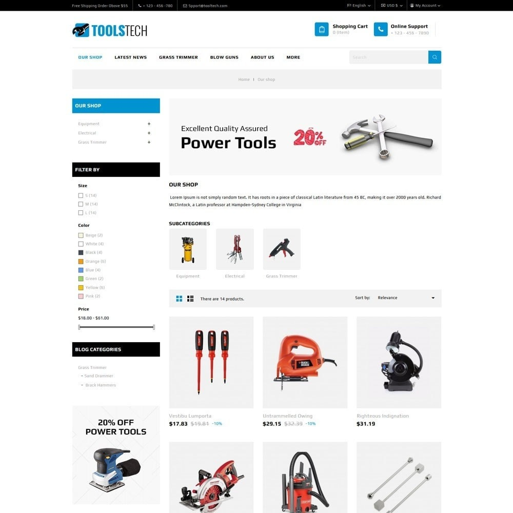 theme - Electronique & High Tech - ToolTech - Le magasin d'outils - 7