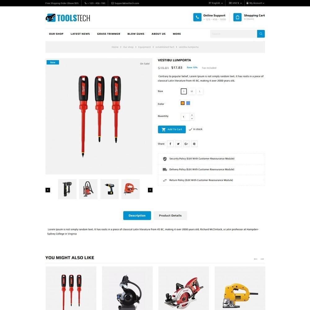 theme - Electrónica e High Tech - ToolTech - La tienda de herramientas - 10