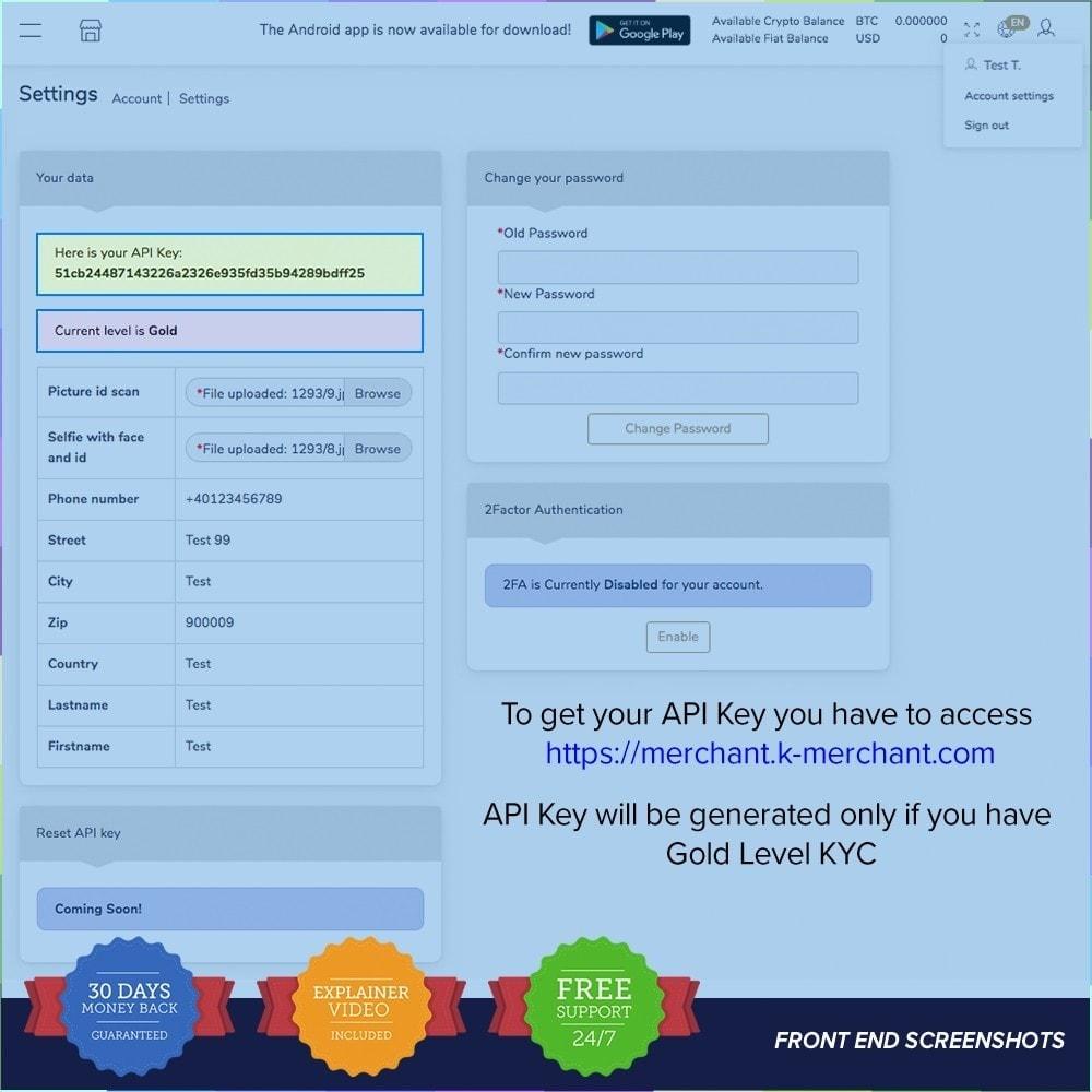 module - Autres moyens de paiement - Système de paiement K-Merchant - 2