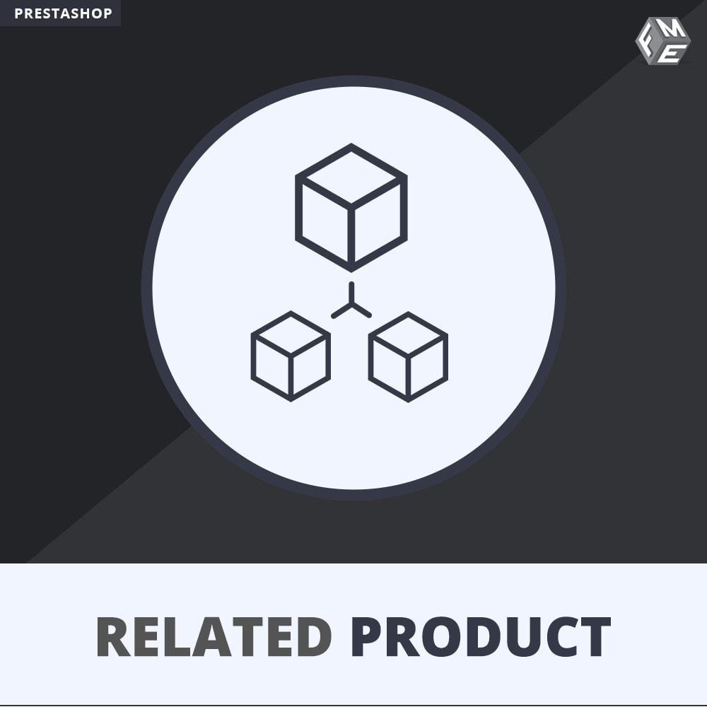 module - Ventas cruzadas y Packs de productos - Deslizador de productos relacionados / similares - 1