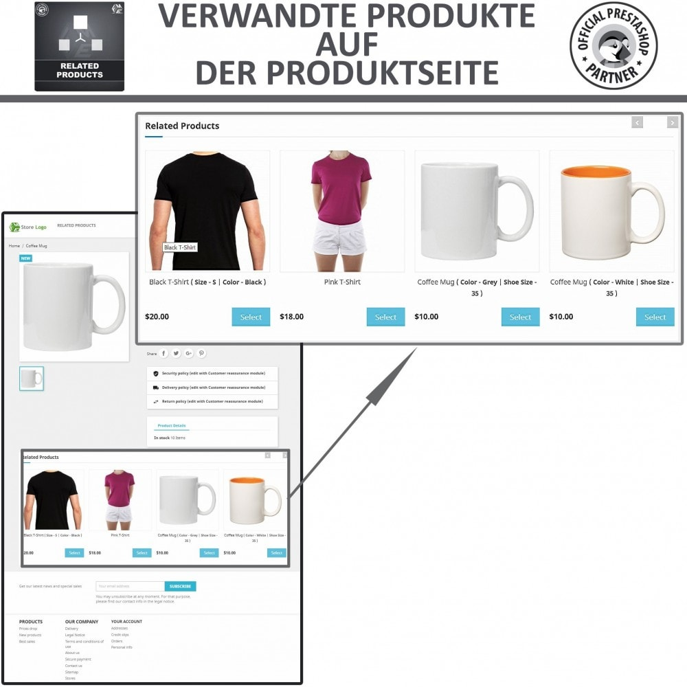 module - Cross-Selling & Produktbundles - Ähnliche Produkte, Ähnliche Produkte Slider - 2