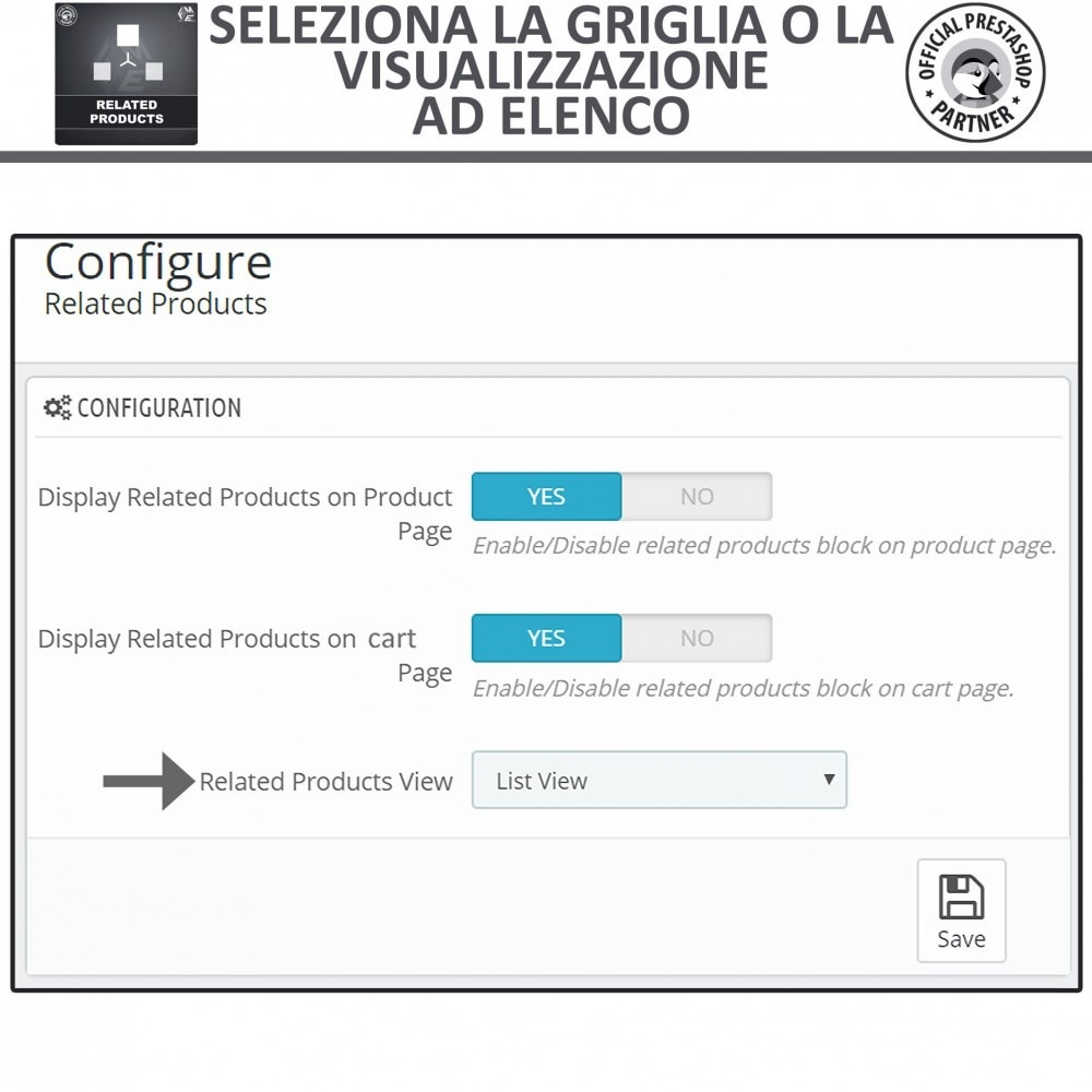 module - Cross-selling & Product Bundle - Prodotti Correlati,  Una Slider per Prodotti Simili - 5