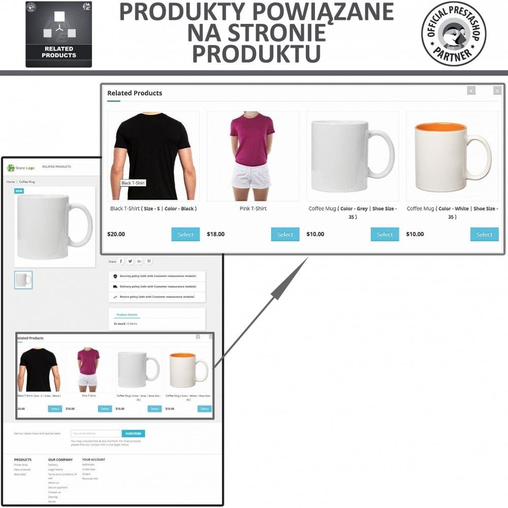 module - Sprzedaż krzyżowa & Pakiety produktów - Moduł Karuzeli Responsywnych Produktów Podobnych - 2