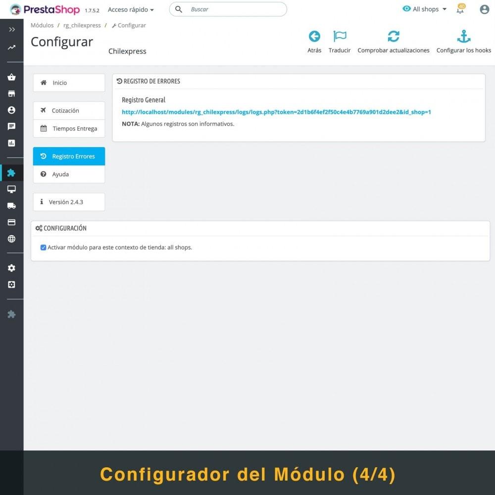 module - Transportistas - Chilexpress - 6
