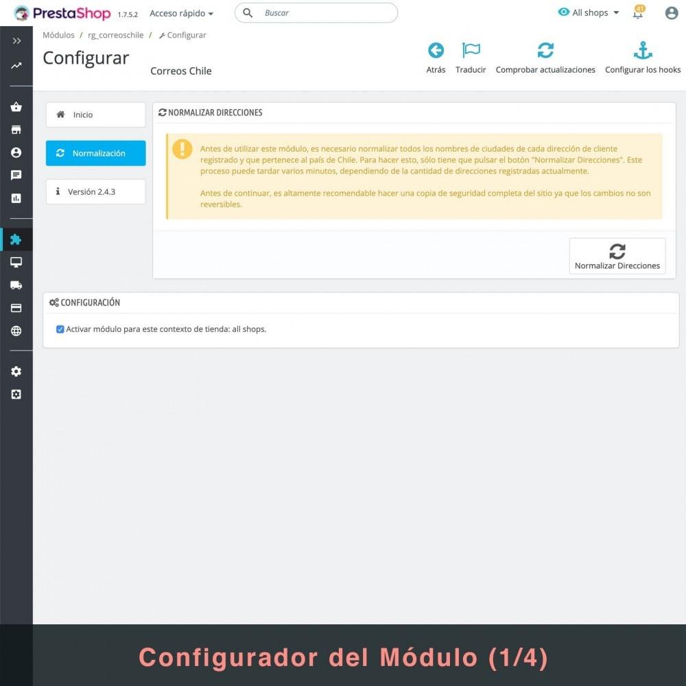 module - Gastos de transporte - Correos Chile - 3
