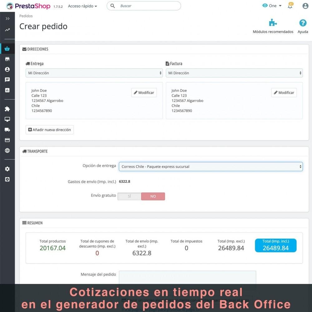 module - Gastos de transporte - Correos Chile - 10
