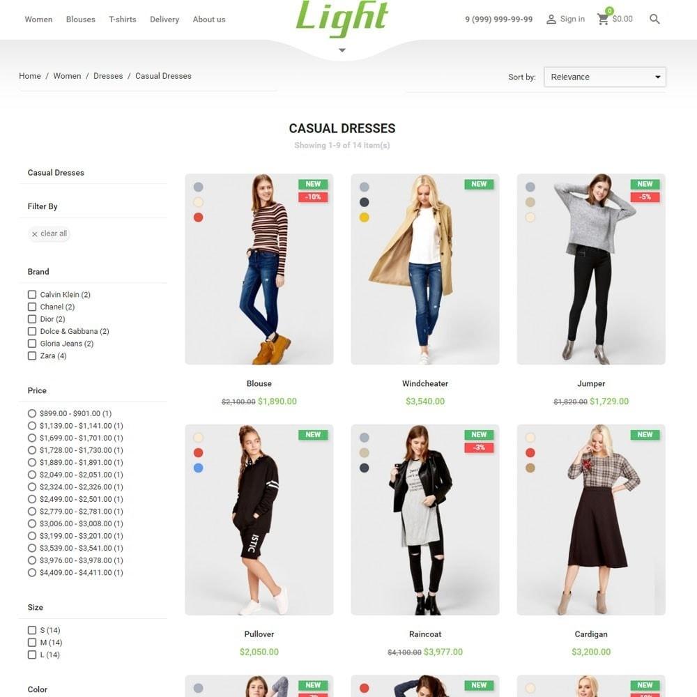 theme - Mode & Schoenen - Light Clothes Store - 4