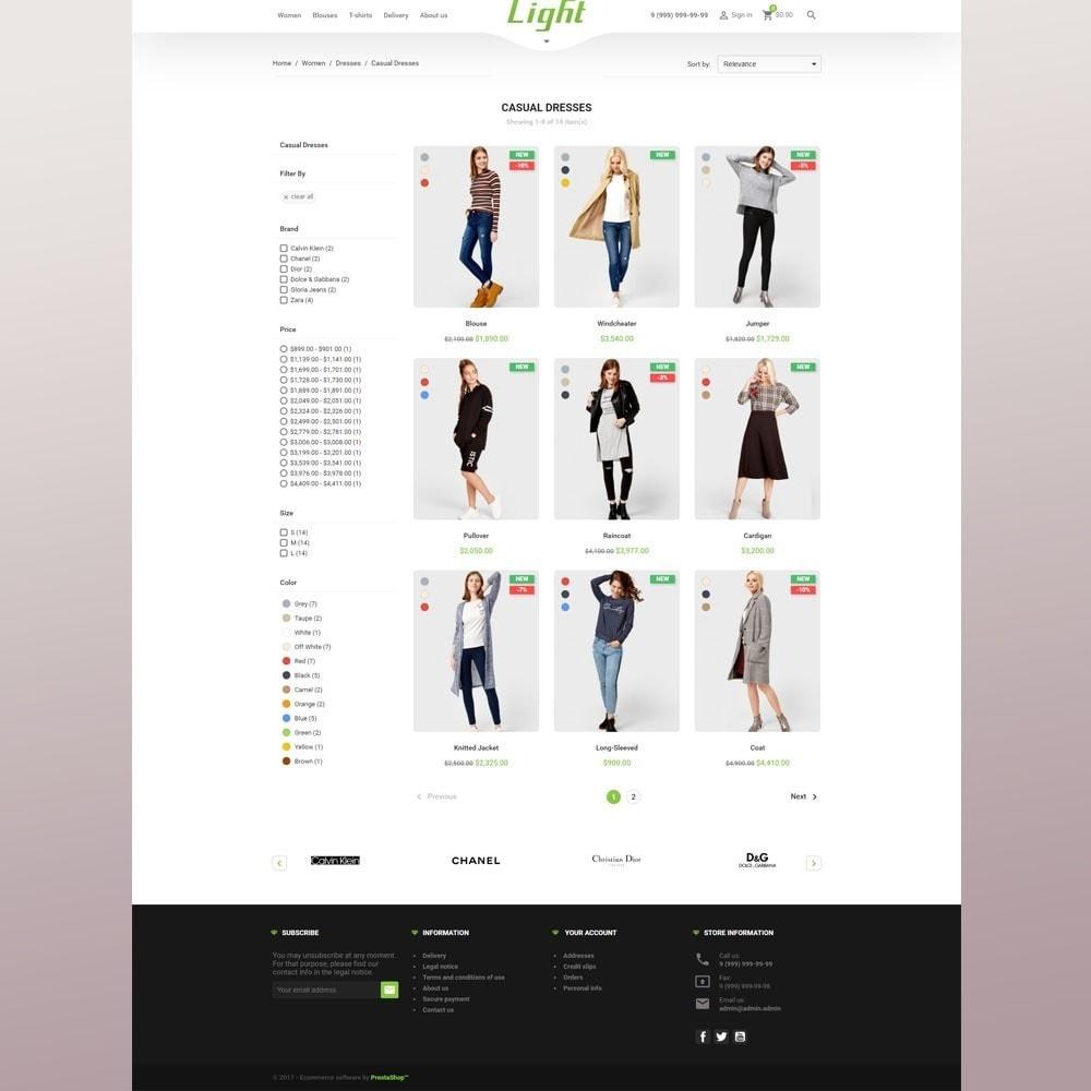 theme - Mode & Schoenen - Light Clothes Store - 5