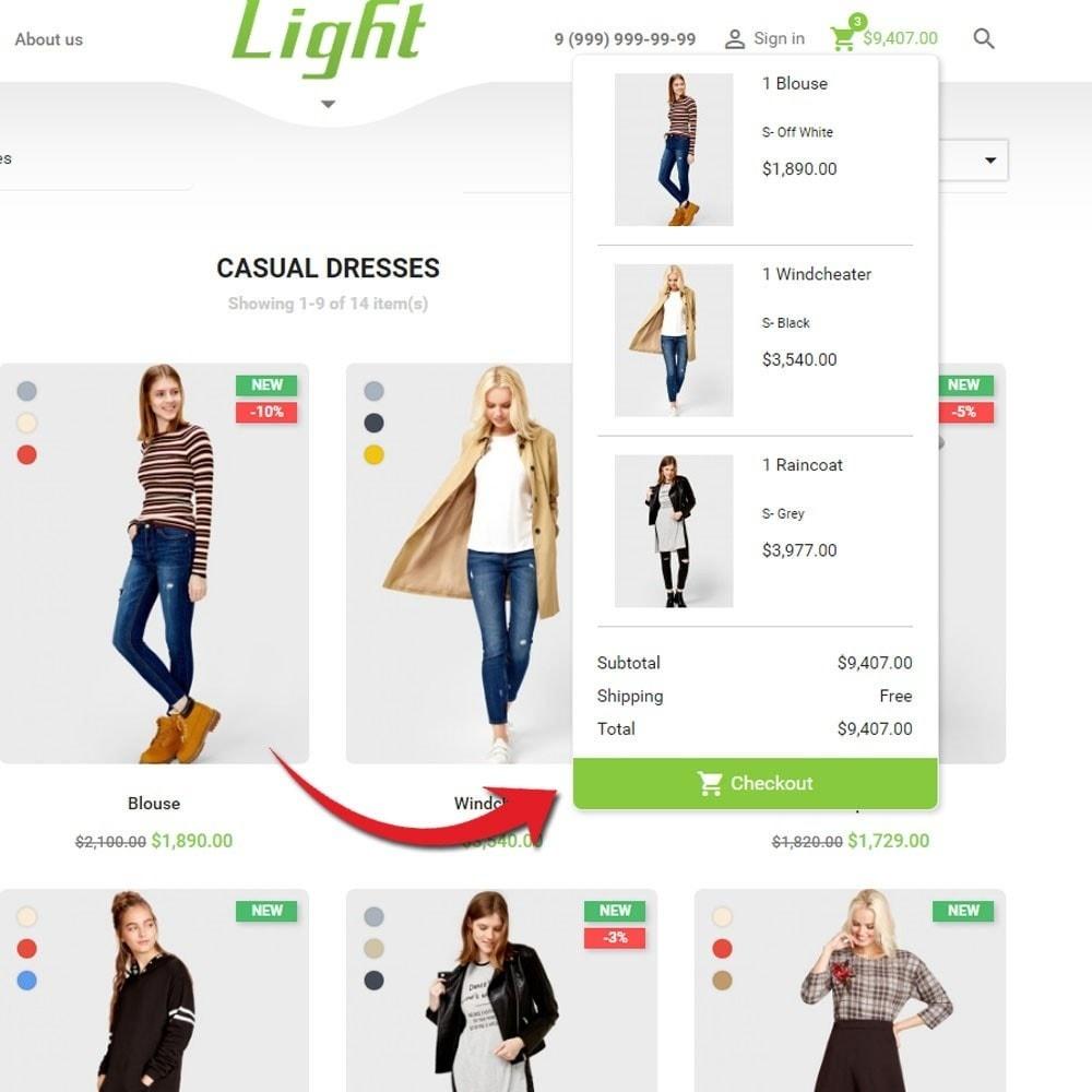 theme - Mode & Schoenen - Light Clothes Store - 7