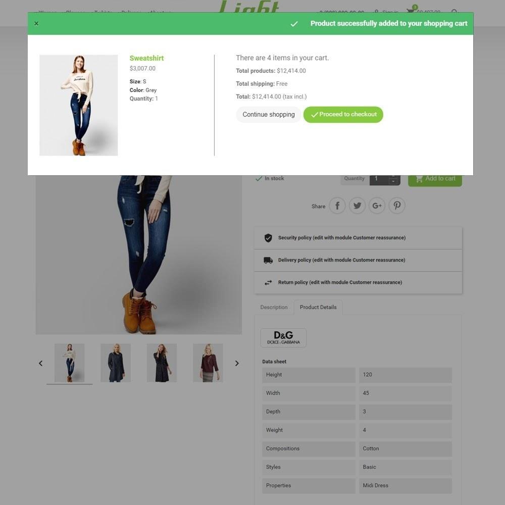 theme - Mode & Schoenen - Light Clothes Store - 9