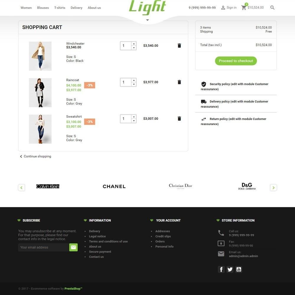 theme - Mode & Schoenen - Light Clothes Store - 10