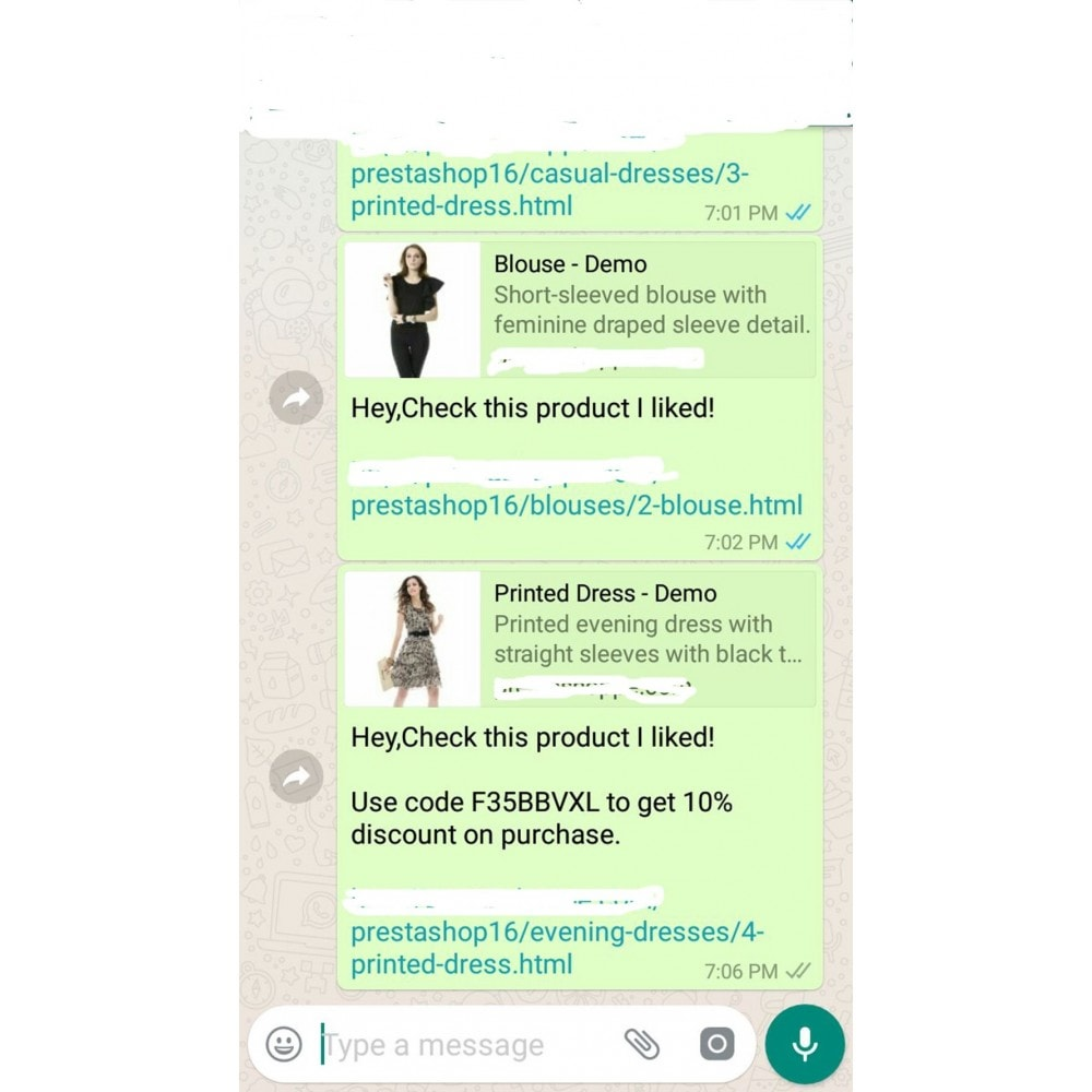 module - Deelknoppen & Commentaren - Product WhatsApp Share - 6