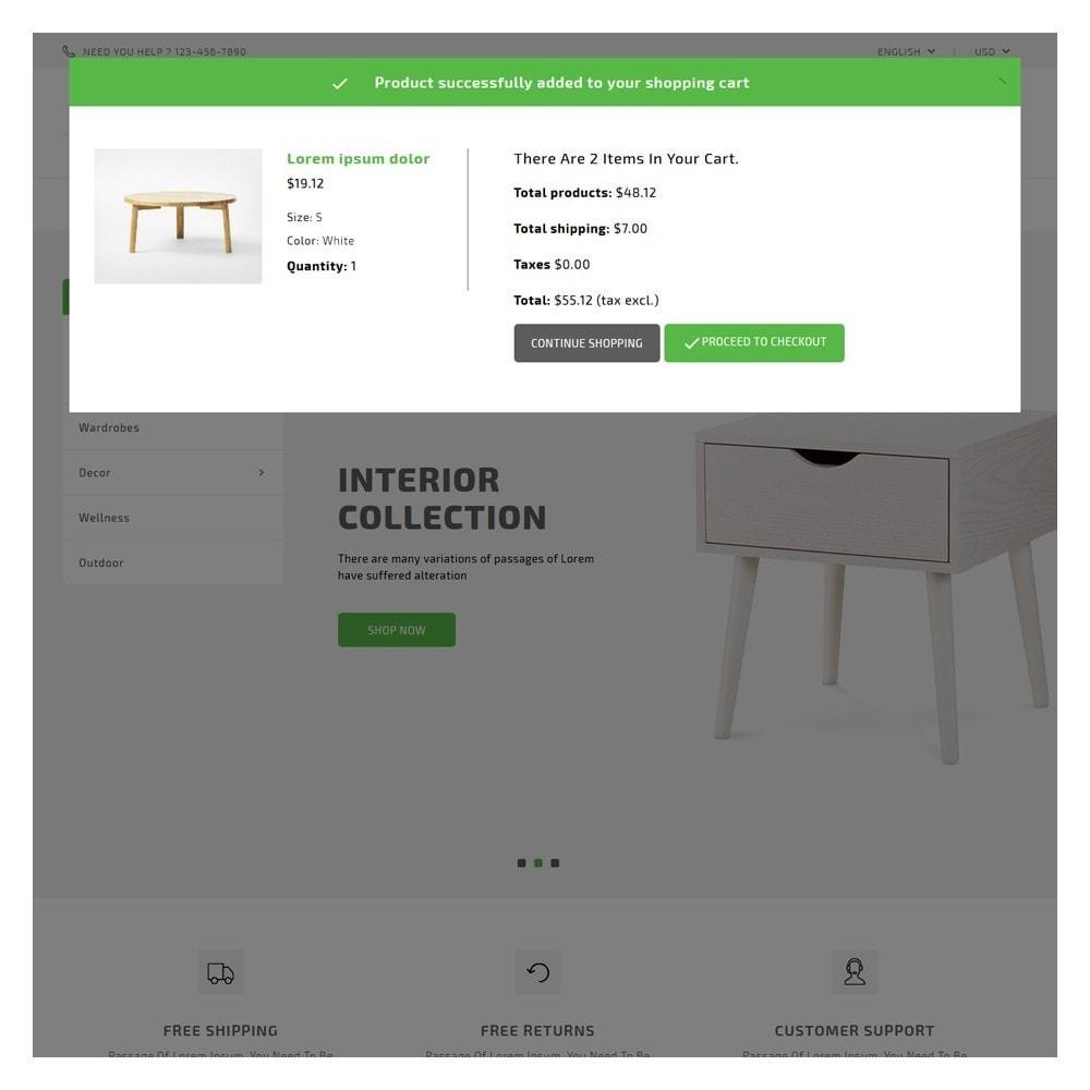 theme - Home & Garden - HomeStyle Furniture Shop - 6