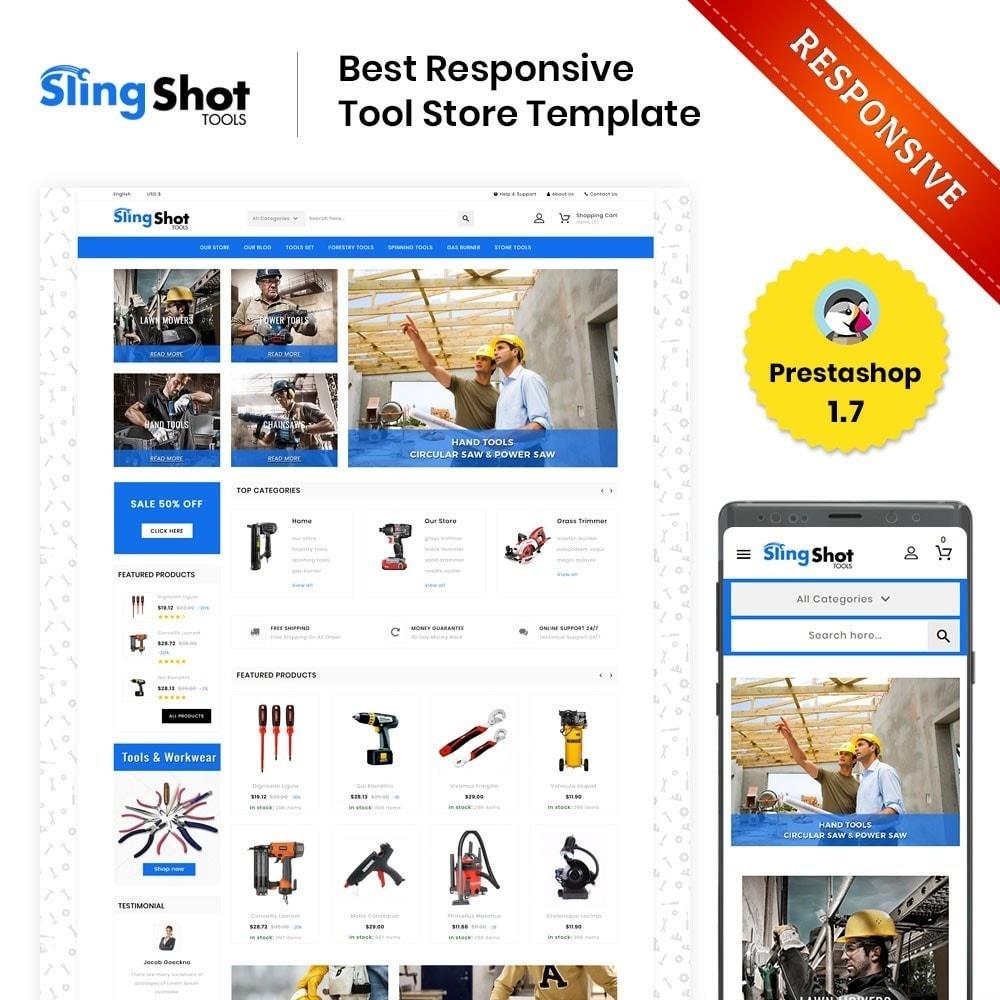 theme - Auto & Moto - Slinshot - The Tool Store - 1