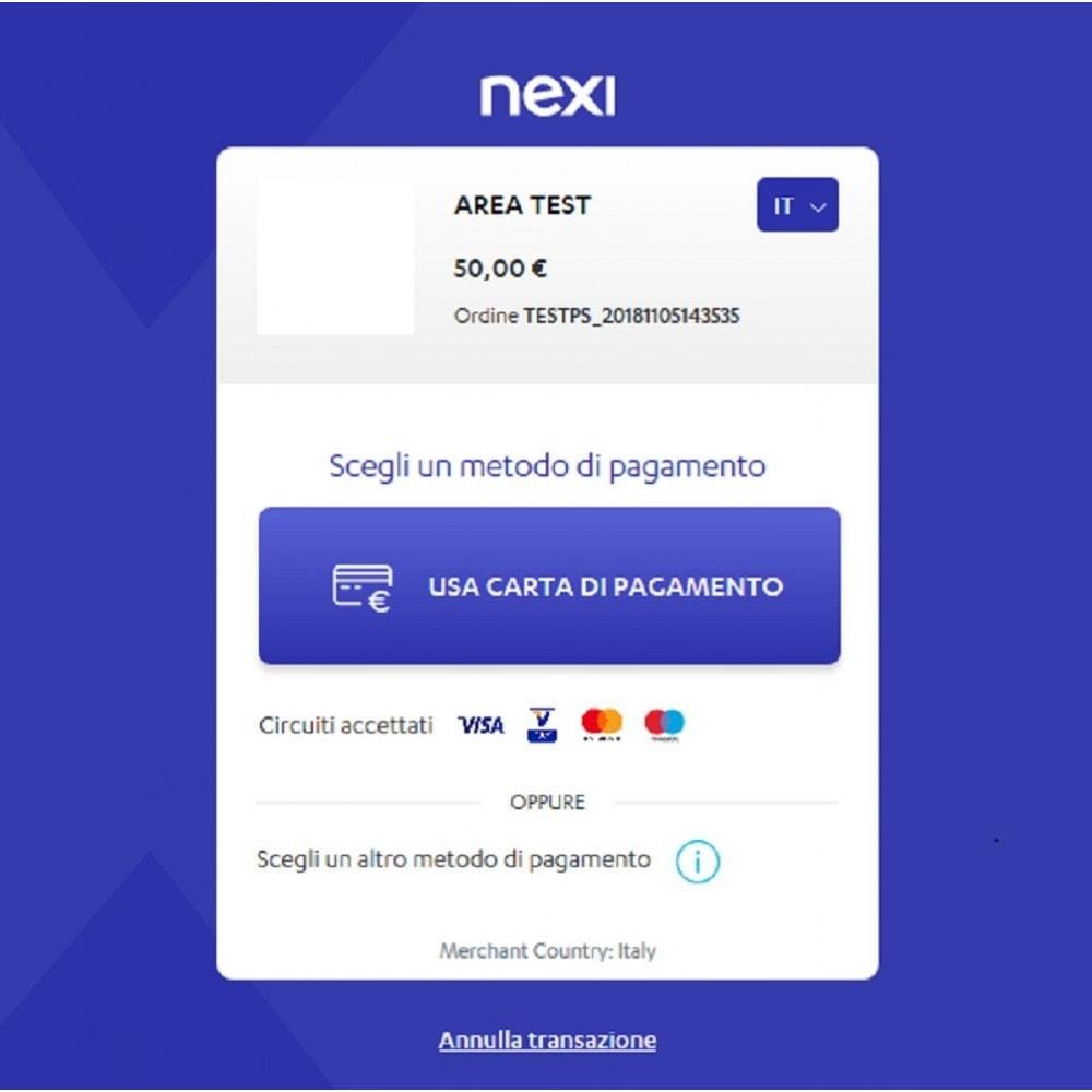 module - Pagamento con Carta di Credito o Wallet - Nexi XPay - 3