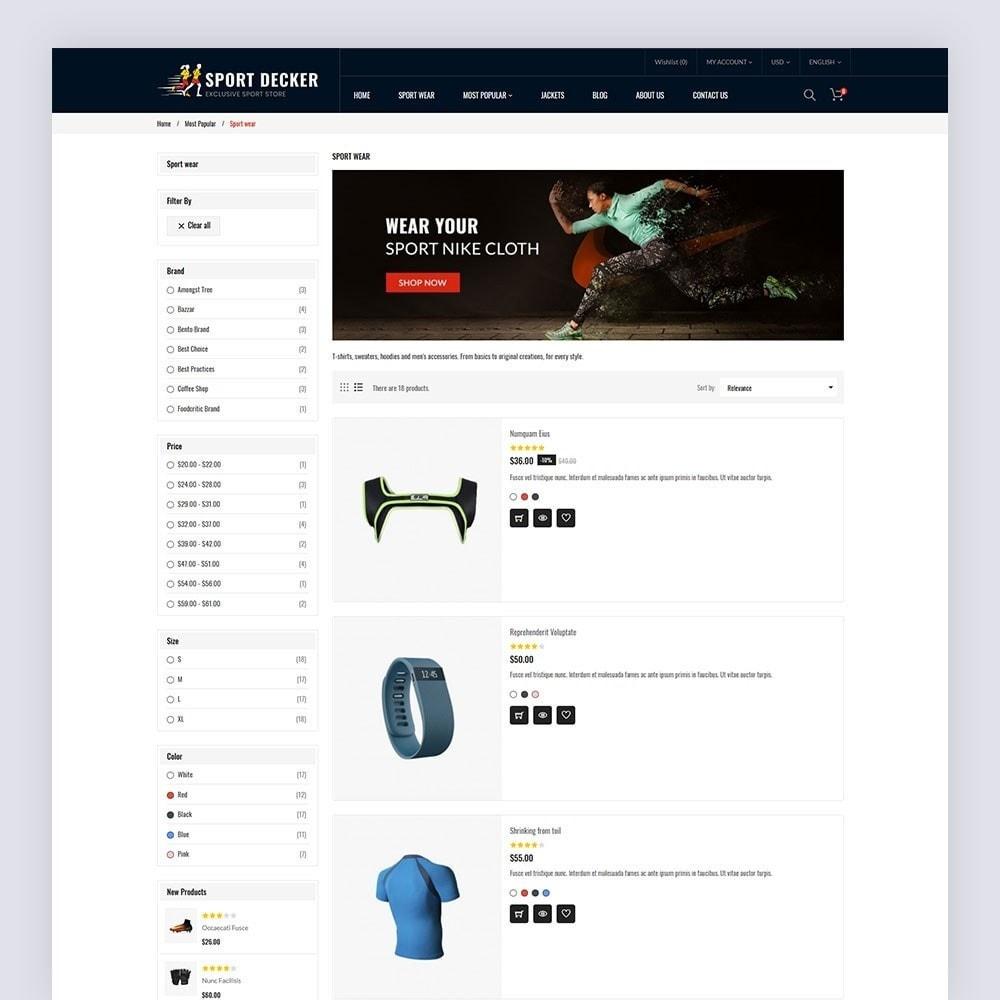 theme - Sport, Loisirs & Voyage - Sport Decker Sport Store - 7