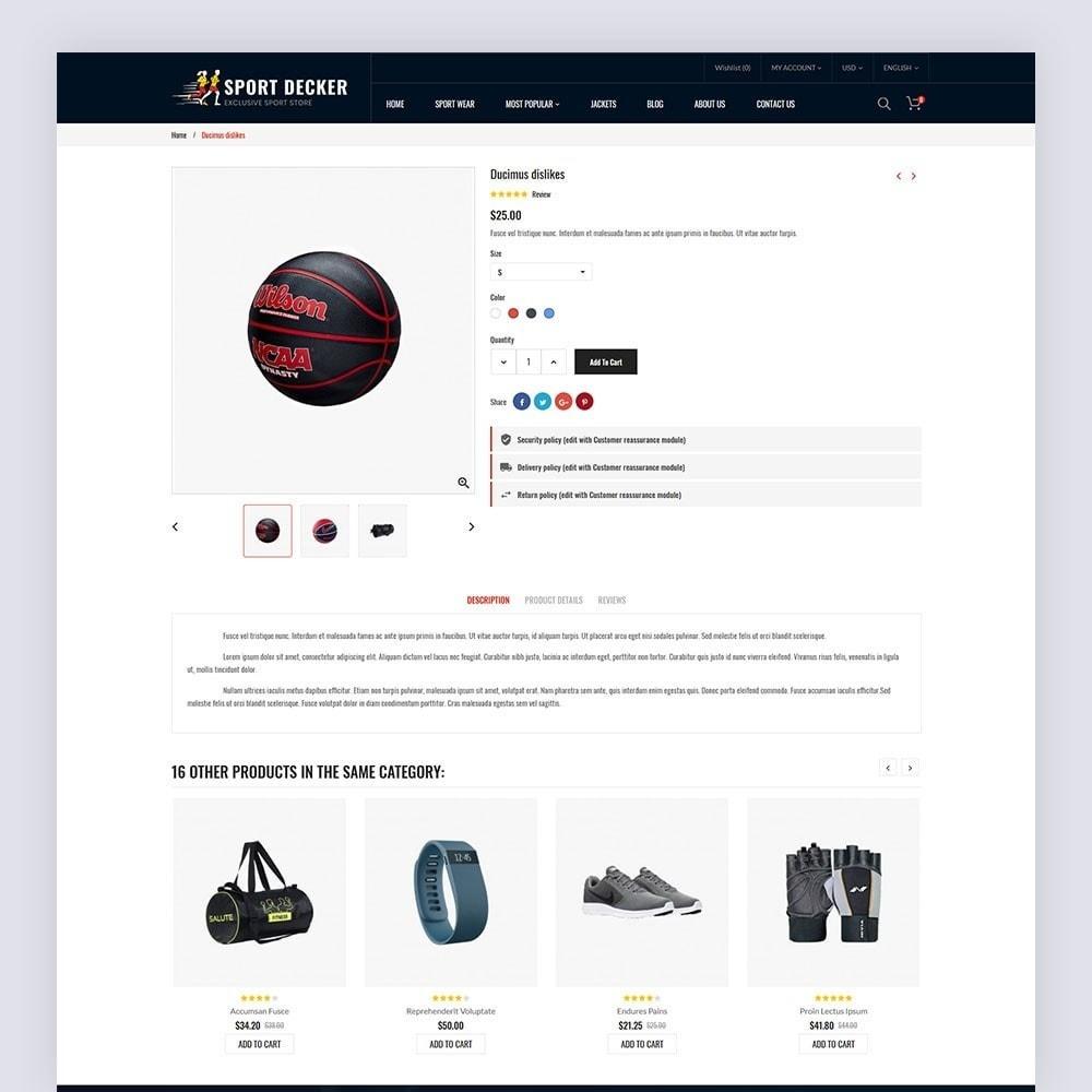 theme - Sport, Loisirs & Voyage - Sport Decker Sport Store - 8