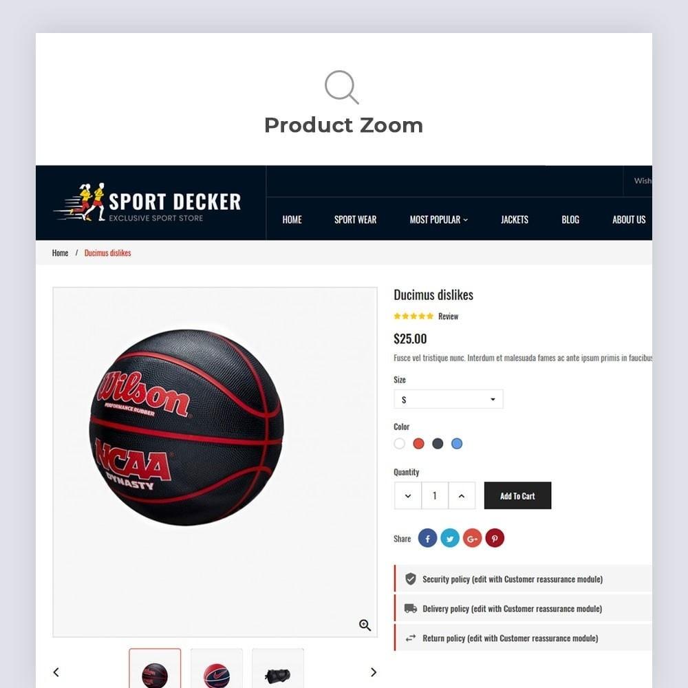 theme - Sport, Loisirs & Voyage - Sport Decker Sport Store - 9