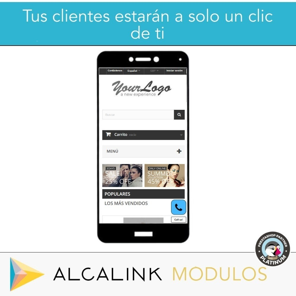 module - Dispositivos móviles - Botón para Llamar (versión móvil) - 2